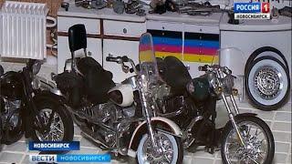 Мотомастерские в миниатюре: мастер из Новосибирска создает оригинальные диарамы