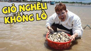 Ăn Hải Sản và tìm hiểu nghề Cào Nghêu ở biển Tân Thành (Oops Banana)