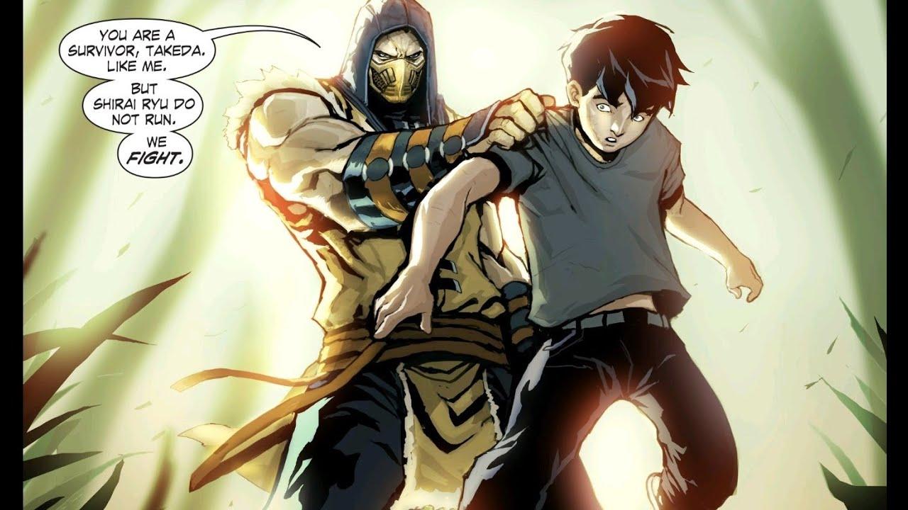 Mortal Kombat X Scorpion Vs Takeda Cutscene 1080p Hd