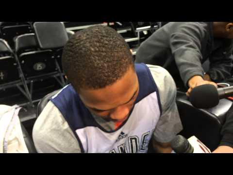 Westbrook: Shootaround in Minnesota