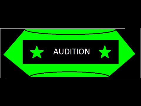 Audition for staff!