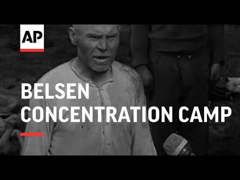 BELSEN CONCENTRATION CAMP - REEL 1 & 2 - SOUND
