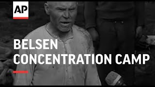 BELSEN CONCENTRATION CAMP - REEL 1 & 2 - SOUND
