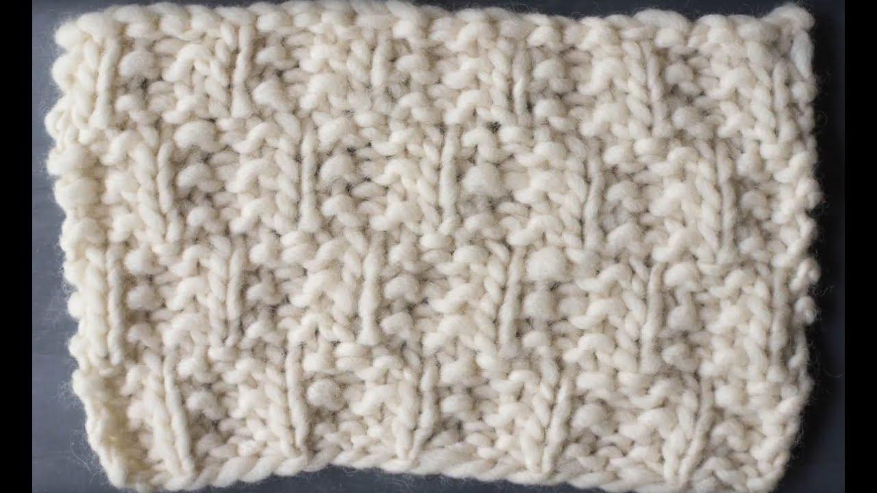 Cloud Walker Scarf Knitting Tutorial