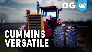 COLD START: Big Cam Cummins 850 14L-Swapped 935 Versatile Tractor