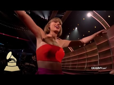 Wow, those GoPro-ed Grammycams turned out to be super awkward