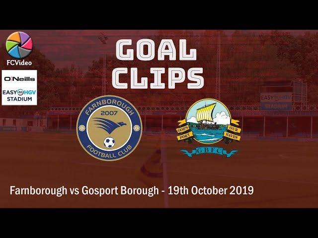 2019-10-19 | Farnborough vs Gosport Borough | Goal