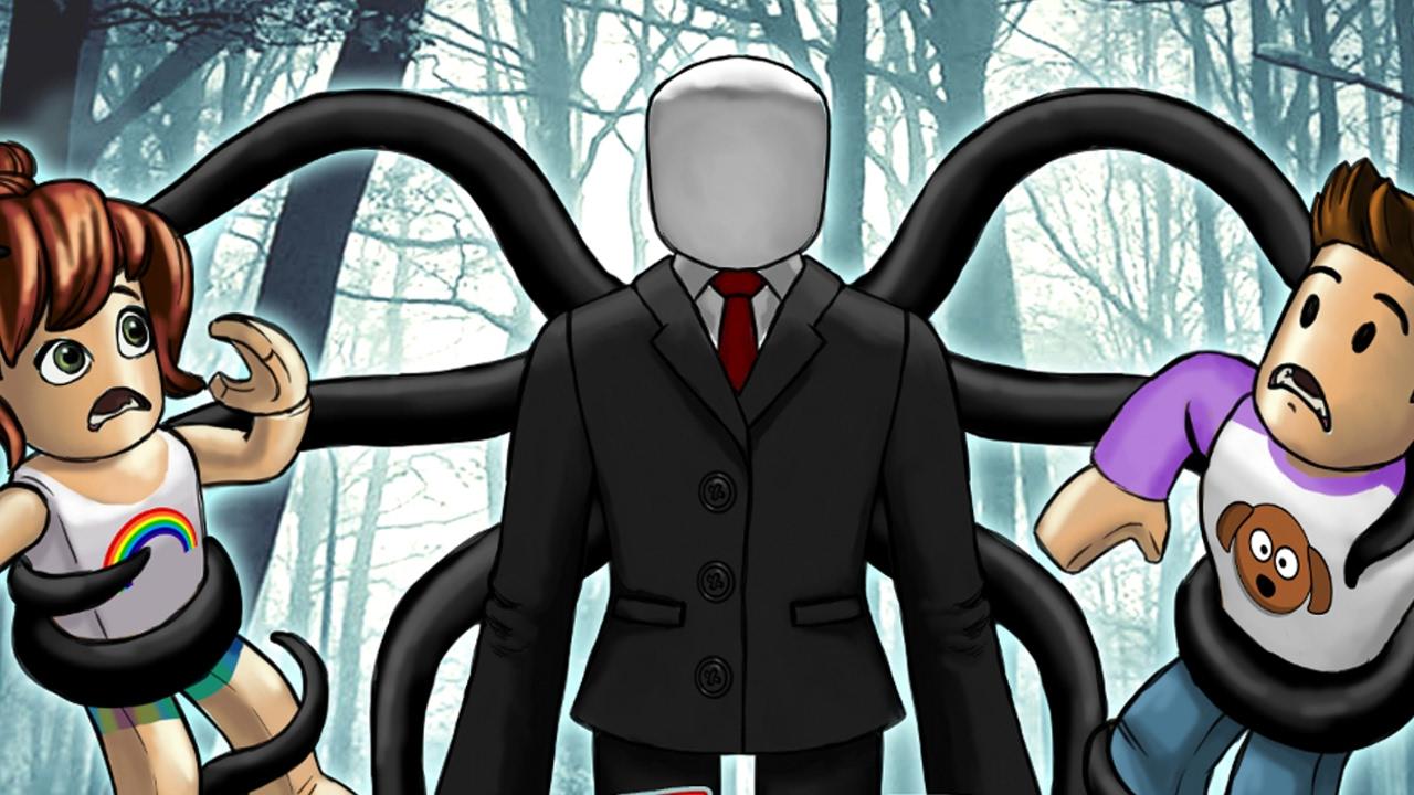 Good Slenderman Games On Roblox Roblox Slenderman Vs Kids Escape Slenderman Roblox Adventures Youtube