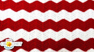 Crochet Chevron, Ripple, Zig Zag, Wave Pattern