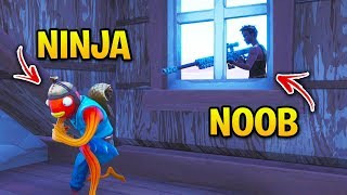 Fortnite Streamers OWNED by NOOBS! (Tfue, Ninja, Shroud, Ali-A)