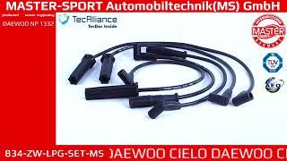 834 ZW LPG SET MS   IGNITION CABLE KIT   Master Sport Automobiltechnik  MS  GmbH