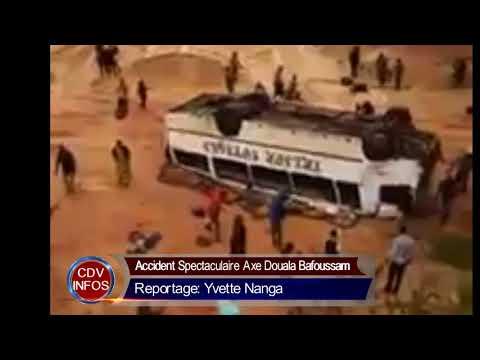 Accident de l'Agence Trésor Voyage à l'échangeur de BEKOKO