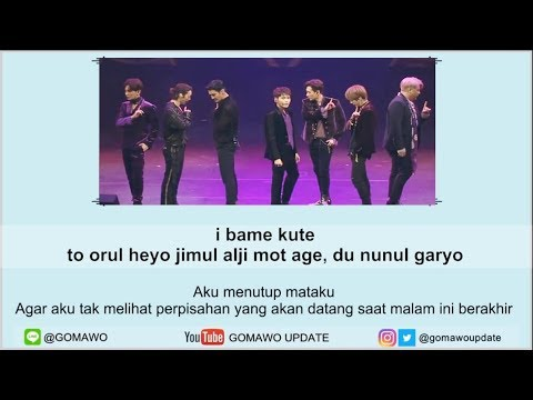 Easy Lyric SUPER JUNIOR ft. REIK - ONE MORE TIME by GOMAWO [Indo Sub]