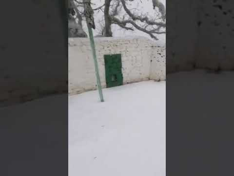 La nevada en Tetuán