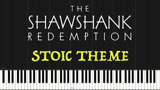 The Shawshank Redemption - Stoic Theme (Piano Tutorial Synthesia)