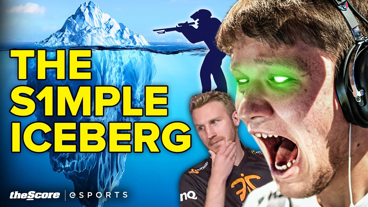 The s1mple Iceberg Explained: Toxicity, Tattoos and a Sushi Restaurant?