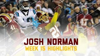 Josh Norman's Revenge on Panthers Comes Up Short | Panthers vs. Redskins | NFL Week 15 Highlights