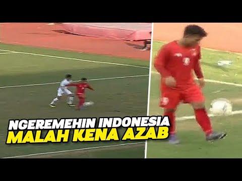 MAKAN TUH🔥Sok Pamer Juggling di Depan Pemain Indonesia, Pemain Myanmar Kena Karma
