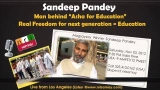 Sandeep Pandey - Co-founder of Asha for Education about education system in India