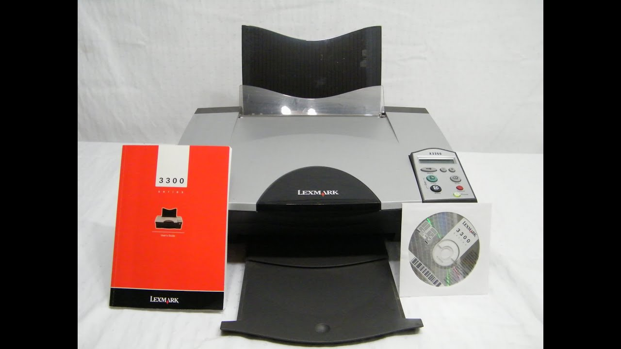 LEXMARK X3300 SERIES DRIVER FOR WINDOWS 7