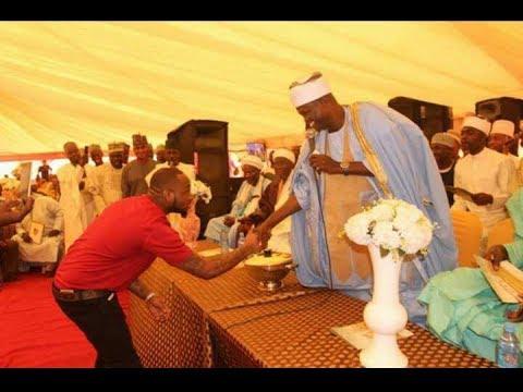 ODAJU OLOWO -   Sheikh Muyideen Salmon Imam Agba Offa with DAVIDO thumbnail