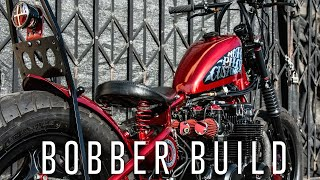 The Ultimate Old School Bobber Build - Time Lapse
