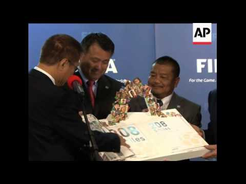 Nations hand in bids to host World Cup in 2018 or 2022