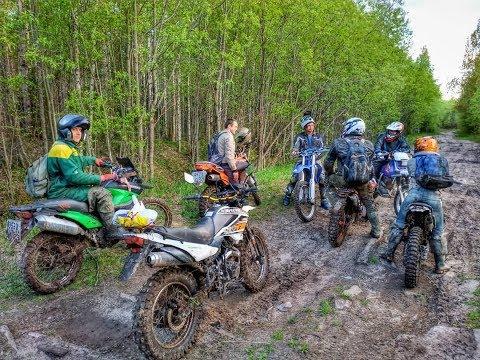 По лесу и болотам на китайских эндуро, первые впечатления MOTOLAND WRX250KT и KAYO K1.