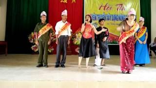 Phần chào hỏi của thôn Mai Hà
