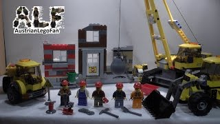 Lego City 60076 Demolition Site / Abriss-baustelle - Lego Speed Build Review