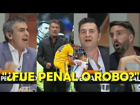 Periodistas argentinos calientes sobre el ¿Robo o penal? en Real Madrid Juventus