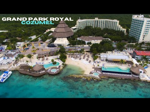 Grand Park Royal Cozumel - All Inclusive Resort Tour and Review