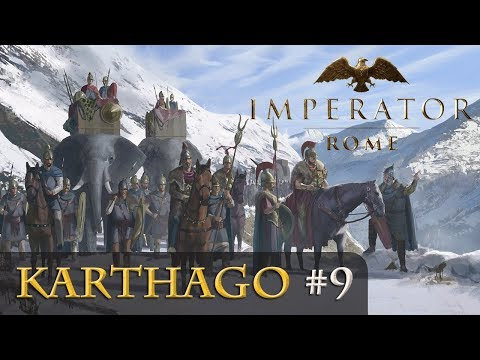 Let's Play Imperator: Rome - Karthago #9: Krieg Um Korsika (gameplay / Deutsch)