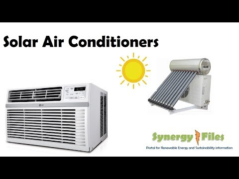 What are Solar Air Conditioners