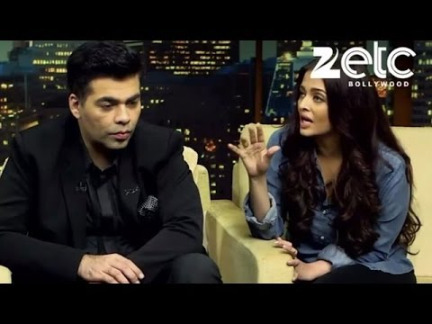 Aishwarya Rai Bachchan & Karan Johar Interview with Komal Nahta • Part 1