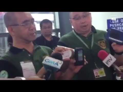 PDEA conducts surprise inspection in NAIA