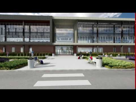 BASE3D Animation   Fort Omaha Campus 2