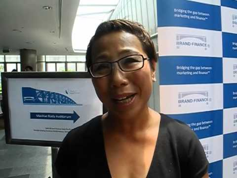 Brand Finance 2013 - DBS Bank meets Robin Stienberg, National Critics Choice