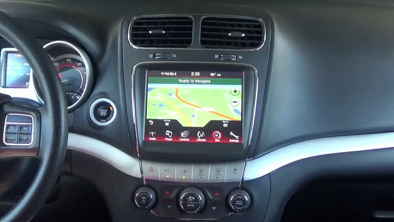 2011 2019 dodge journey factory gps navigation upgrade easy plug play install  [ 1280 x 720 Pixel ]