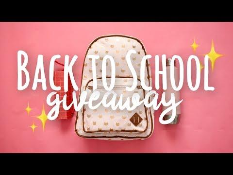 Back to School Haul + Giveaway 2018!   SimplyMaci