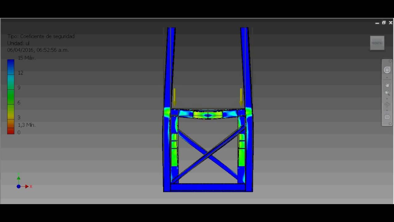 Estructura Metalica Para Soporte De 130 Toneladas Youtube