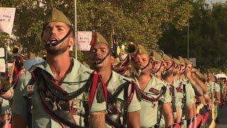 Desfile del Día de la Hispanidad