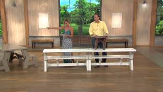Convert-a-bench Ultra Ii Outdoor 2-in-1 Bench-to-table W/5 Year Lmw With Amy Stran