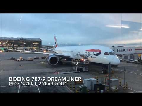 British Airways Business Class (Club World), BA33 London to Kuala Lumpur