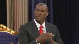 Tyrese Gibson with Steve Harvey on TBN Jun 10, 2011 Interview