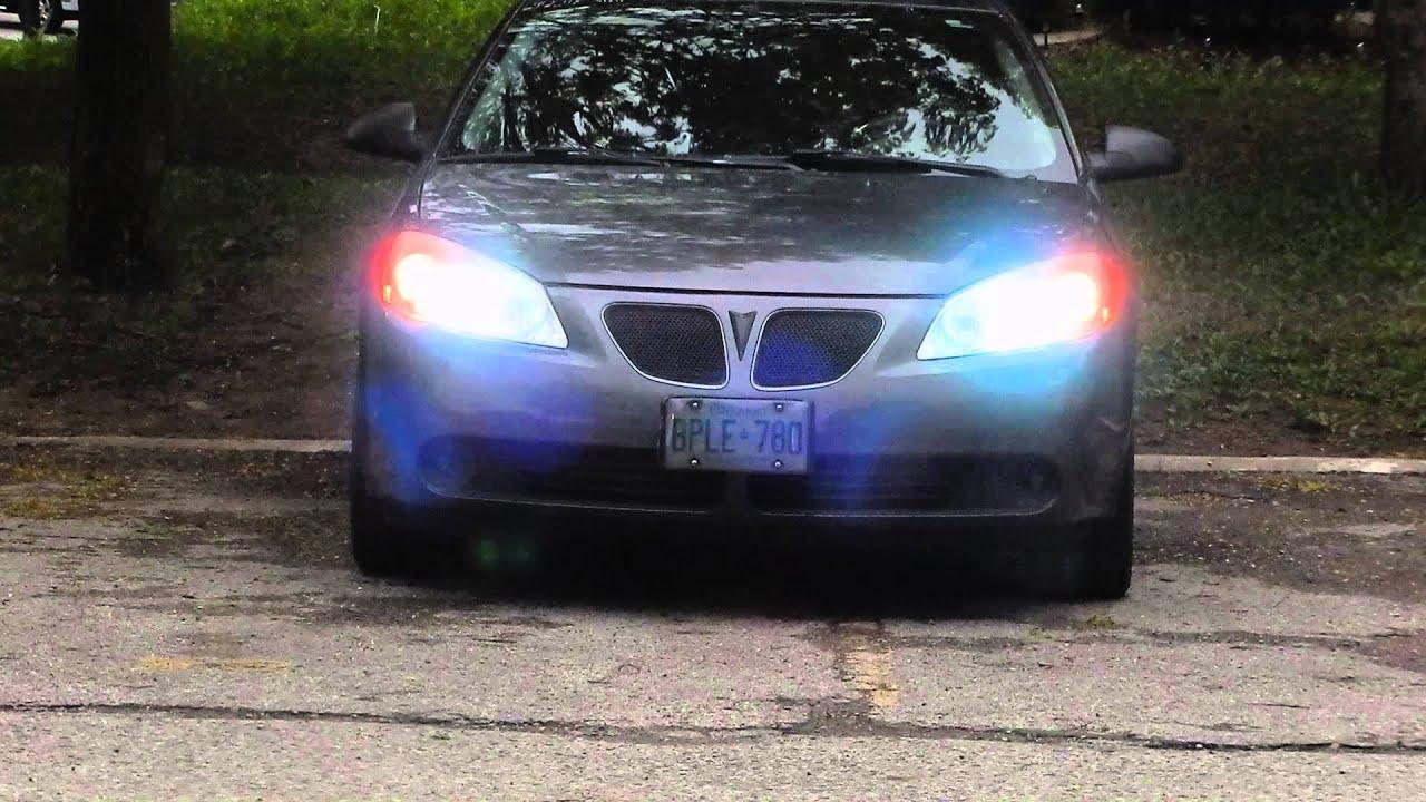 6000k H I D S For A 2006 Pontiac G6 Gt