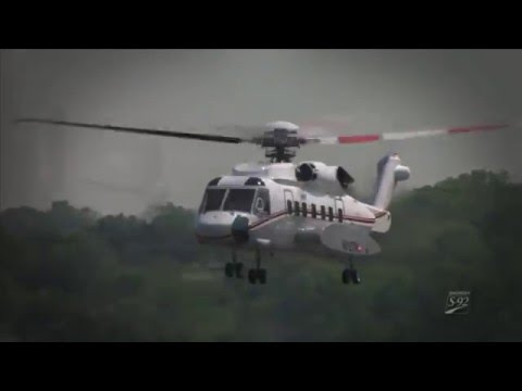 Sikorsky S 92 -  Executive Helicopter -  Luxury Transportation
