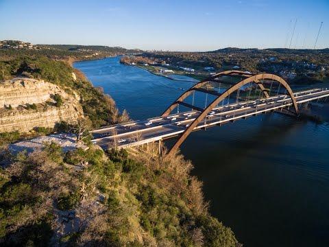 Austin 360 Bridge in 4K!