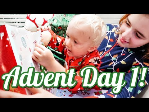 Advent Day 1 - Vlogmas!