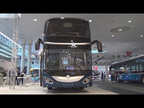 Mercedes-Benz MCV 800 Double-Decker Bus (2019) Exterior and Interior